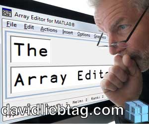 Studying at the Array Editor